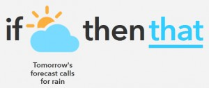 IFTTT 「this」選択後
