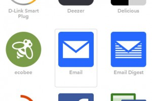 IFTTT レシピ作成その9 Emailを選択