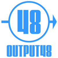 Output48ロゴ