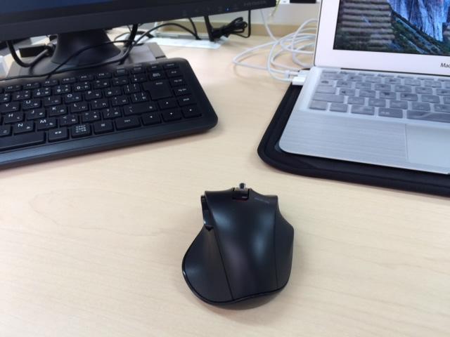 マウスを1個にした状態