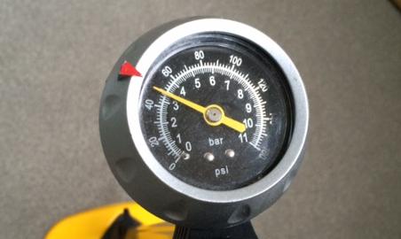 適正な空気圧は45~55だそう