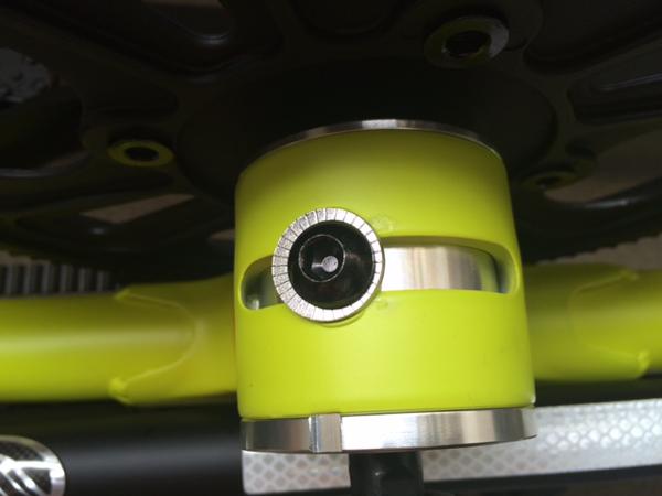 STRiDA(ストライダ) クランクフレーム底のボルト