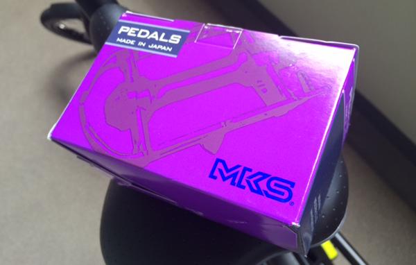 折り畳みペダル MKS(三ヶ島製作所) FD-7