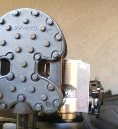 MKS FD-7ペダルの折り畳み効果検証