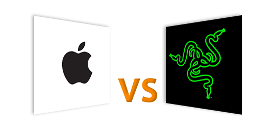 Apple VS Razer