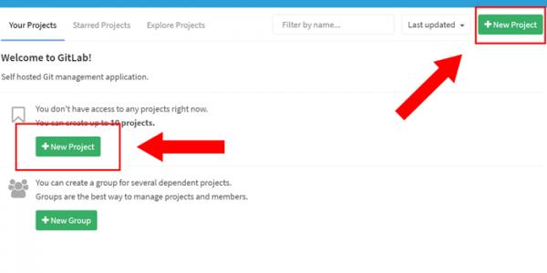 GitLab 新規プロジェクト作成03-2