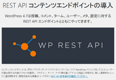 WP REST API イメージ