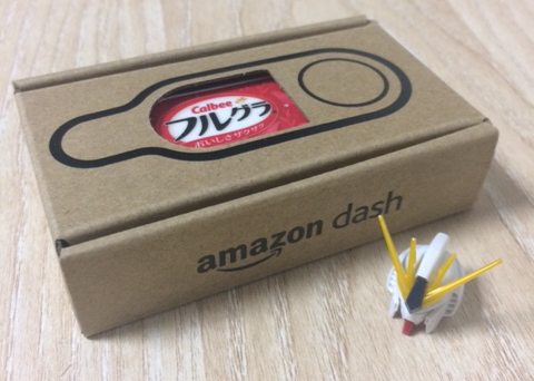Amazon Dash Button 大きさ比較