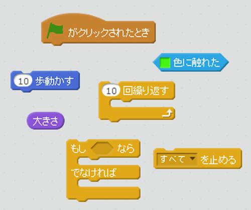 Scratch(スクラッチ) ブロックの形