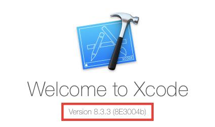 Xcodeのバージョンを更新