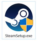 Steamインストーラ