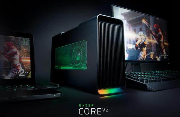 Razer Core V2 ホームページキャプチャ