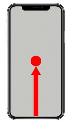 iPhoneXで起動中のアプリ一覧を出す方法