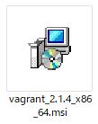 Vagrant msiファイル