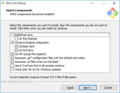 Git for Windowsインストール01