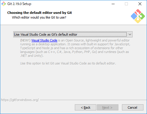 Git for Windowsインストール02