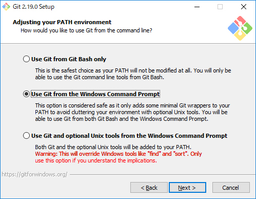Git for Windowsインストール03