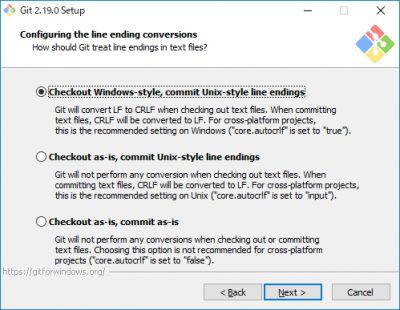 Git for Windowsインストール04