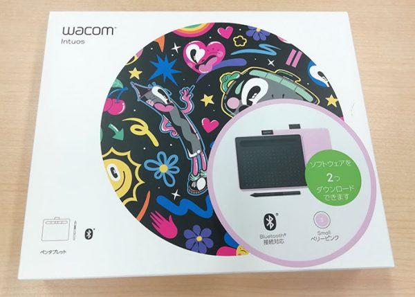 Wacom ペンタブレット Intuos Small 外箱