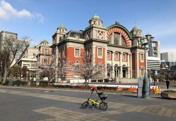 STRiDAと桜と中央公会堂