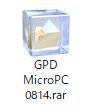 GPD MicroPC リカバリーメディア作成02