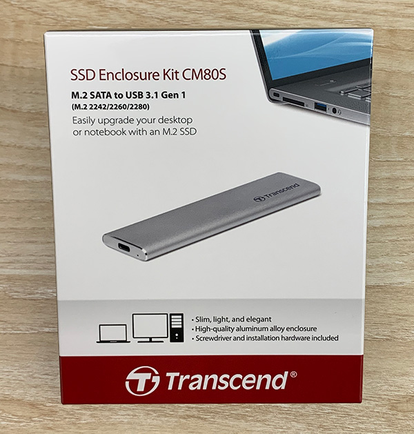 SSDケース(Transcend)