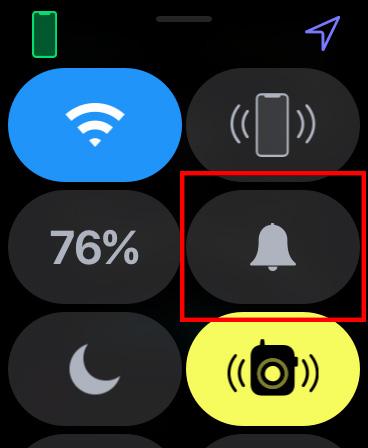 Apple Watch をマナーモードにする02
