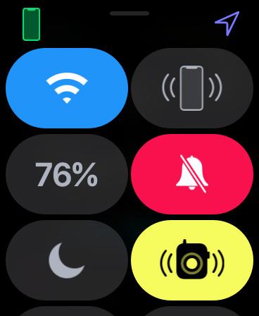 Apple Watch をマナーモードにする03