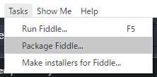 Electron Fiddleでパッケージ化