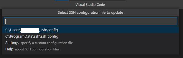 ssh/configの選択