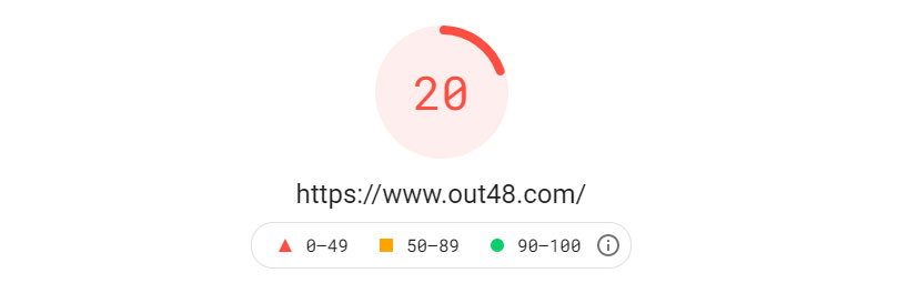 Google PageSpeed Insights 2021-08-11 Output48